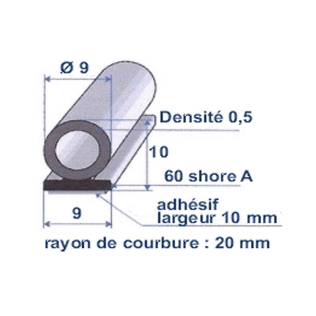 EPDM_CELLULAIRE_NOIR_ADHESIVE_BI_DURETE_ROULEAU_DE_100M_REF_7389494_BSB_CAOUTCHOUCS_PLASTIQUES