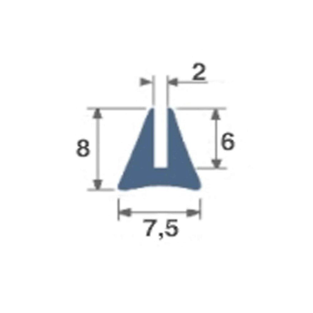 PROFIL_SILICONE_ROULEAU_DE_50M_REF_7439075_BSB_CAOUTCHOUCS_PLASTIQUES