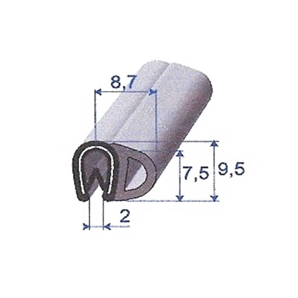 PVC_EPDM_CELLULAIRE_NOIR_ARMATURE_METAL_ROULEAU_DE_100M_REF_6967696_BSB_CAOUTCHOUCS_PLASTIQUES