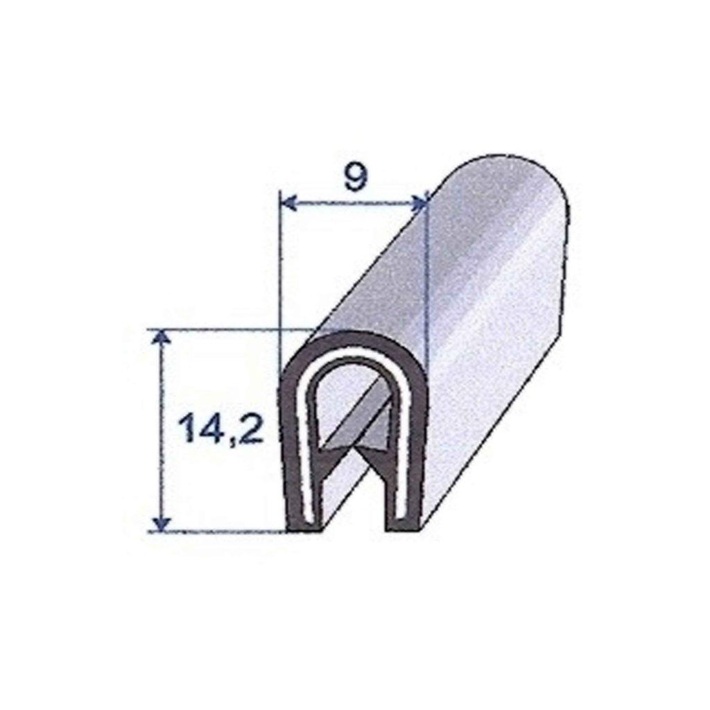 PVC_NOIR_ARMATURE_METAL_ROULEAU_DE_50M_REF_7211420_BSB_CAOUTCHOUCS_PLASTIQUES