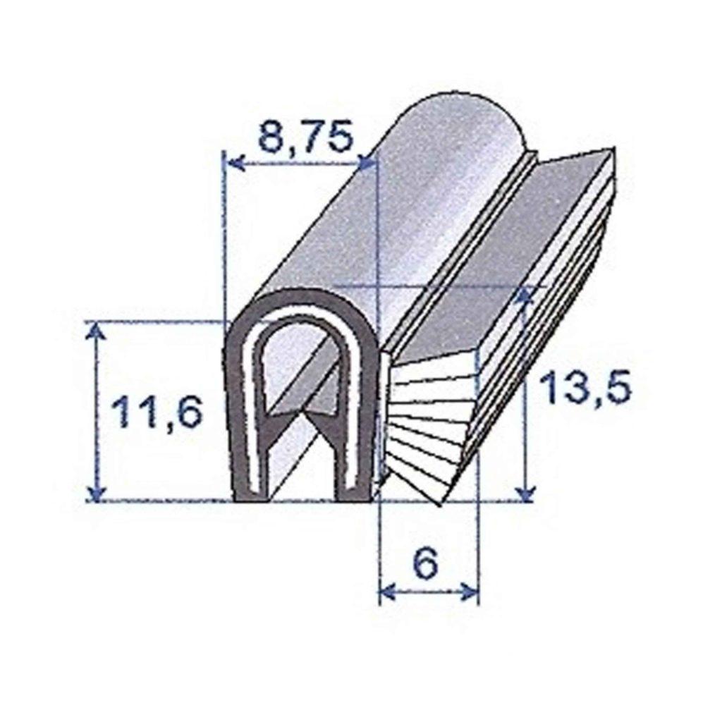 PVC_VELOUR_NOIR_ROULEAU_DE_25M_REF_1429000_BSB_CAOUTCHOUCS_PLASTIQUES