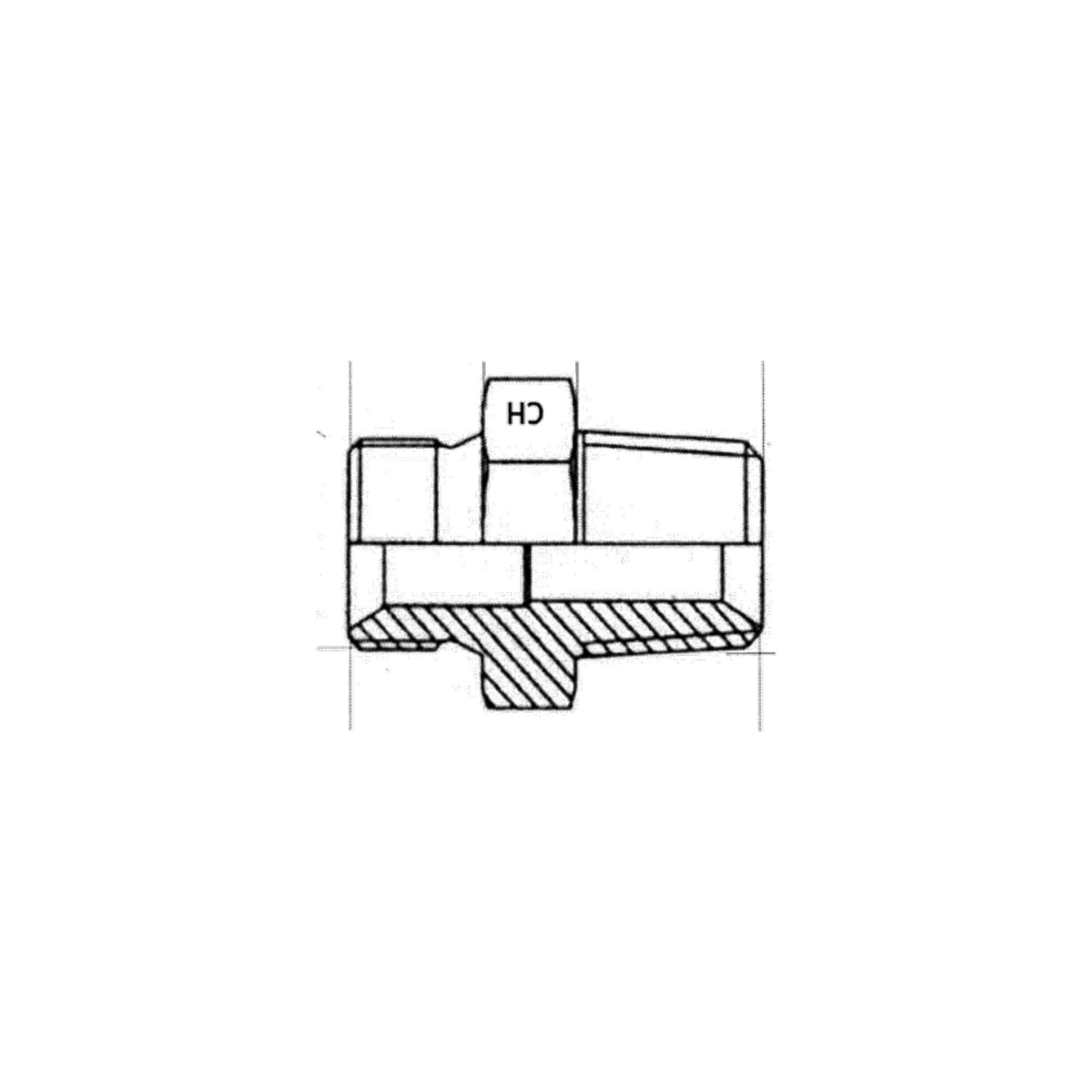 UNION_MALE_BSP_X_MALE_GAZ_CONIQUE_BSB_CAOUTCHOUCS_PLASTIQUES